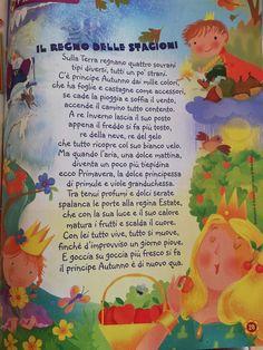 Stagioni Montessori, Fall Decor, Seasons, Education, Children, Creative, Winter Time, Reading, Spring