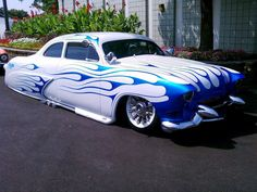 SH Boom ~ Owner Bob Fryz ~ Paint by Boogie Man ~ Pinstriping by Lil' Dickie