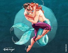 These Illustrations Of Gay Men Were Inspired By Disney And They Are Fabulous