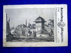 253, SCIO, CHIOS, Greek Island, 1836, Sat Mag.  Greece.