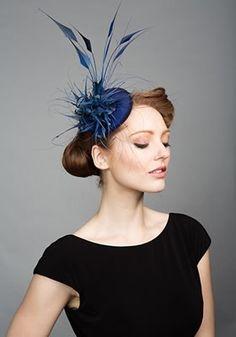 Rachel Trevor-Morgan :: Blue silk pillbox
