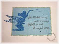 So Suzy Stamps: Stardust Dancing - Tinkerbell Cricut