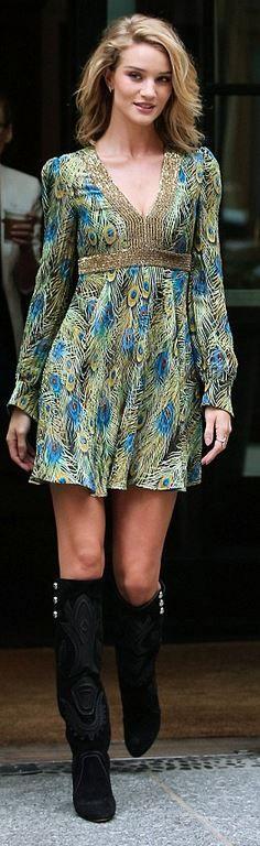 Shoes – Isabel Marant  Dress – Saint Laurent