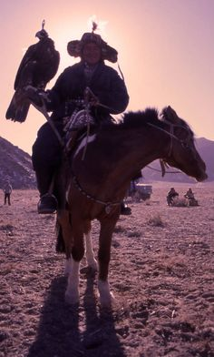 Eagle Hunters, Ulgii, Mongolia. Foto: Alicia Boy.