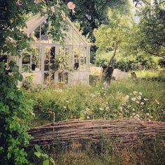 Verdus veranda Gardens & Shop , Hablingbo, Gotland – Gotlandstips.se  #gotland #gotlandstips #sweden #gardens #greenhouse #fence #oldfashionedgarden #