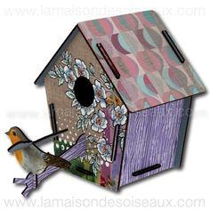 Cabane à oiseau deco en kit Guestroom - LA MAISON DES OISEAUX
