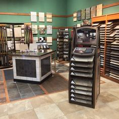 Stop by to see our newly remodeled tile section and get inspired for a new look in your home! #tile #floor #riemerfloors