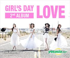 #GirlsDay Vol. 2 - Love (Girl's Day Version) #kpop -- click on the pic to order now