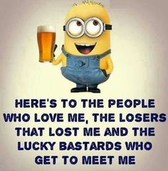 Everyone loves minion, so what is better then minions with a funny attitude? Here we have 14 funny minion quotes all with a fun and sarcastic attitude that will have you laughing out loud. Funny Minion Pictures, Funny Minion Memes, Minions Quotes, Funny Jokes, Minions Minions, Funny Quote Pictures, Funny Images, Funny Photos, Minions 2014