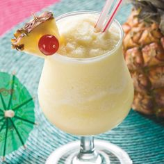 Coconut Rum Signature Cocktail: Sweet Seduction Piña Colada — Sugar Island Rum