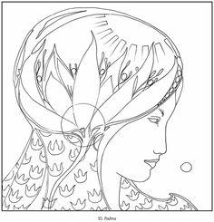 Goddesses Susan Seddon Boulet Coloring Book