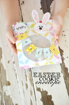 Easter Cookie Envelope #Cre8time