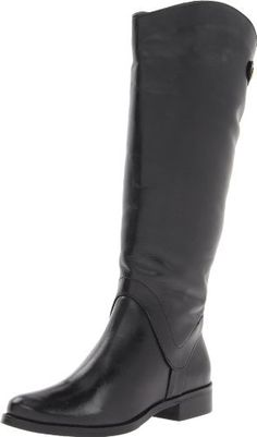 STEVEN by Steve Madden Womens Sady Riding Boot Black 6 M US * Click image for more details.(This is an Amazon affiliate link)