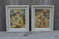 Vintage Huldah Prints Paintings  Shabby Chic by EasyVintageHome, $26.00