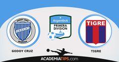 Godoy Cruz vs Tigre este é apenas um dos muitos jogos que pode encontrar para fazer as suas aposta online, siga o nosso site e encontre as melhores tips.