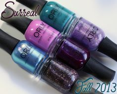 Orly Surreal Fall 2013 Nail Polish Swatches & Review (All Lacquered Up)