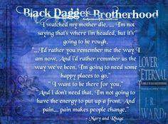 Mary & Rhage- J.R. Ward's Black Dagger Brotherhood series