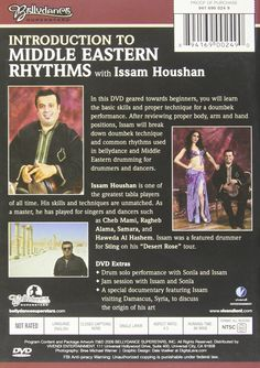 DVD Review: Introduction To Middle Eastern Rhythms by Issam Houchan ~ Free belly dance classes online