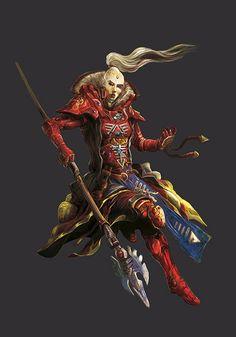Warhammer 40k Eldar Farseer Artwork