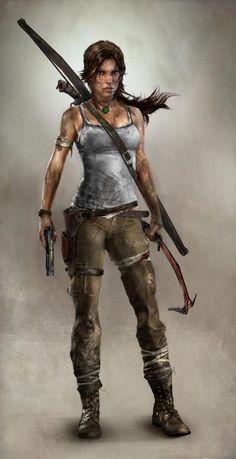 Lara Croft 2013 basis for Cosplay