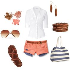 summer night, created by rg on Polyvore