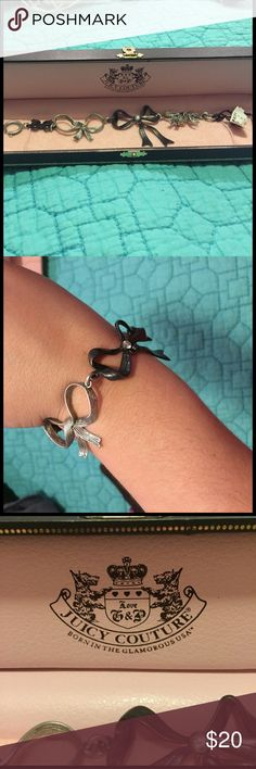 Juicy Couture Bow bracelet Juicy couture Bow bracelet Juicy Couture Jewelry Bracelets