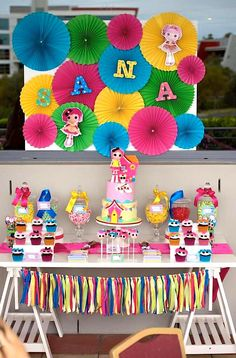 Little Wish Parties | Lalaloopsy Themed Party | https://littlewishparties.com