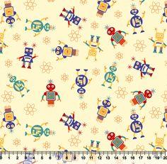 Estampa Robozinhos | Desenho 5211 Variante 02