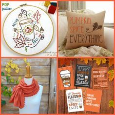 Is it just me, or has the pumpkin spice craze really taken off this year? Personally I'm all for it - i'm in the VERY Pro-Pumpkin camp. Here's a roundup of handmade favorites for all things pumpkin spice, at blog.patternedapp.com.
