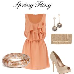 spring fling, created by gigib310 on Polyvore