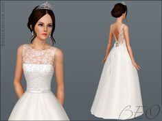 Sims 3 finds - bride 14 wedding dress at beo creations bethany sims Sims 3 Cc Clothes, Sims 4 Cc Kids Clothing, Sims 4 Mods, My Sims, Sims 4 Wedding Dress, Wedding Dresses, Sims 3 Cc Finds, Sims 4 Dresses, Sims4 Clothes