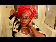 How to tie Gele: Bridal style II - YouTube Natural Hair Accessories, Natural Hair Styles, How To Tie Gele, Natural Afro Hairstyles, Native Design, Lock Style, African Fashion, African Style, Native Style