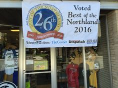 """We were voted """"Best of the Northland!  #brantsclothing"""