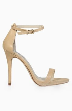 Windsor Smith Christy Heels Bone Leather