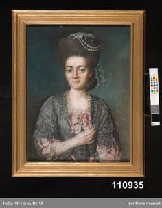 Digitalt Museum - Porträtt, 1770s-80s, Nordiska Museet, NM.0110935