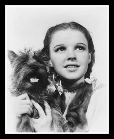Dorothy and Toto ………………..For more classic 60's and 70's pics please visit & like my Facebook Page at https://www.facebook.com/pages/Roberts-World/143408802354196