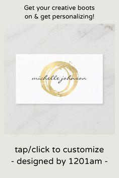 Premium Business Cards, Salon Business Cards, Artist Business Cards, Minimalist Business Cards, Unique Business Cards, Professional Business Cards, Business Card Logo, Business Card Design, Gold Paint