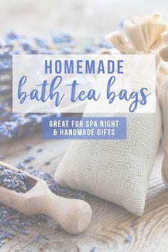 How to Make Herbal Bath Tea Bags (Homemade Bath Bag DIY) - Hello Nature