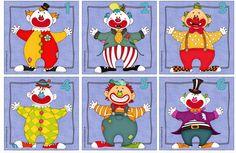 Ideenreise: Lesekarten mit Clowns