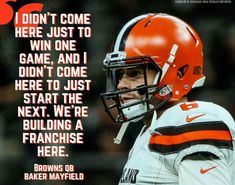 aaaaf0c876 Cleveland Team, Cleveland Browns Football, Cleveland Browns History,  Cleveland Rocks, Baker Mayfield
