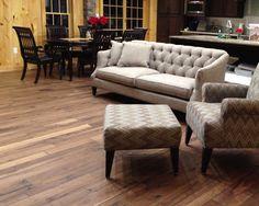 Alta Vista Historic Walnut. Engineered Hardwood Flooring by Hallmark Floors