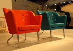 Anna's Beatrix easy chairs for Kallemo