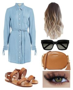 """Untitled #223"" by voicu-ana ❤ liked on Polyvore featuring Michael Kors, RED Valentino, MICHAEL Michael Kors and Yves Saint Laurent"