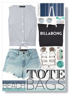 """""""Shallow Tide"""" by atarituesday ❤ liked on Polyvore featuring T By Alexander Wang, Warehouse, Billabong, Christian Dior, Casetify and Deborah Lippmann"""