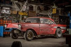 Amazing 1957 Chevy Gasser Find - http://barnfinds.com/amazing-1957-chevy-gasser-find/