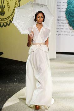 Ulyana Sergeenko Haute Couture S/S 2013 Paris