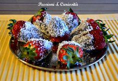#strawberries, #fudge, #coconut http://passioniandcuriosita.blogspot.it/2015/04/fragole-fondente-e-cocco.html