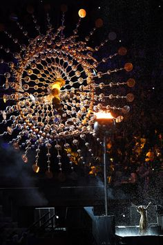 Singer Mariene de Castro performs in front of the Olympic Cauldron before being extinguished during the Closing Ceremony on Day 16 of the Rio 2016 Olympic Games at Maracana Stadium on August 21, 2016 in Rio de Janeiro, Brazil.