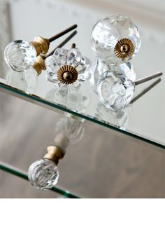 Buy Home Decor Online - Vases & Candlelight, Picture frames, Wall Art, Cushions, Throws, Window dressing, Decorative accents - Glass Knob - EziBuy New Zealand