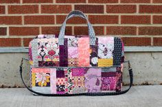 Patchwork Duffle Bag by Jeni Baker, via Flickr